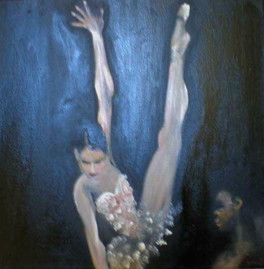 Ballett Tänzerin