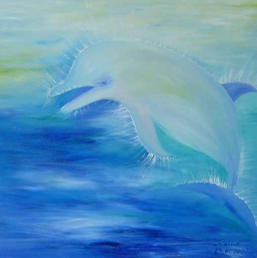 Delphin Blau