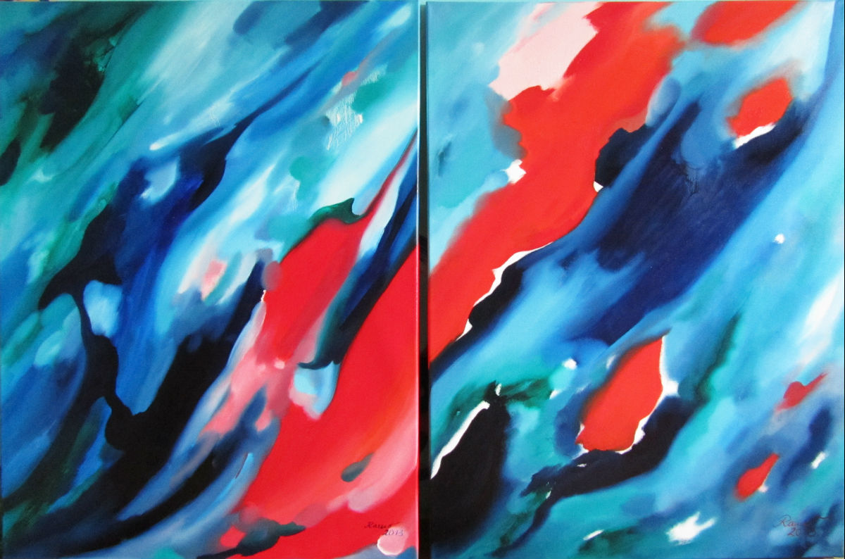 Abstract  - Serie 2 Bilder