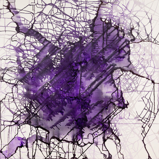 Abstract Violet