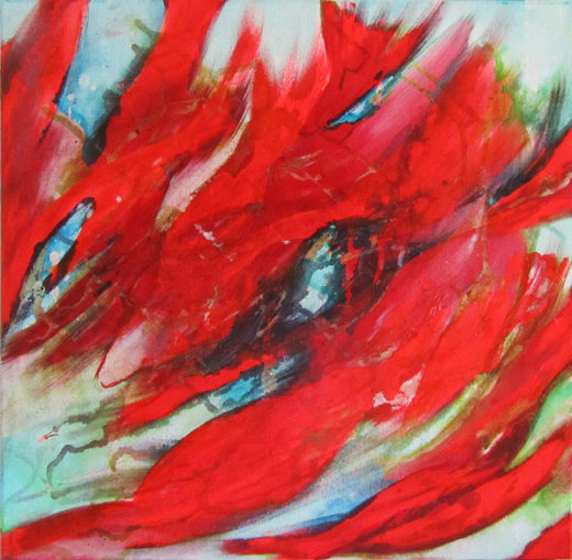 Abstract Koi 1 of 3