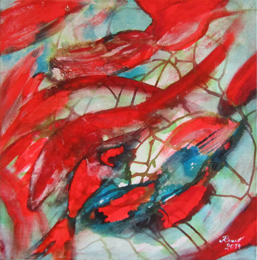 Abstract Koi 3 of 3