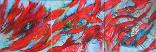 Abstract Koi - Series 3 Pictures