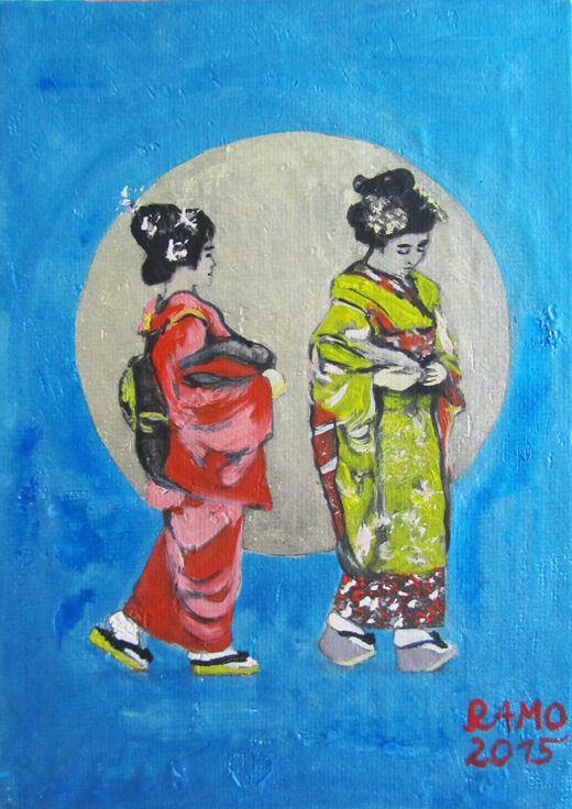 Two Geisha