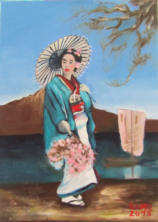 Traditional Geisha 2