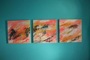 Abstrakte Serie by Ramona Romanu