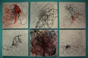 Abstrakte Serie 2012 by Ramona Romanu